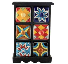 Spice Box-1165 Masala Rack Container Gift Items