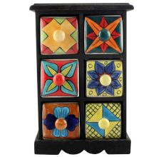 Spice Box-1166 Masala Rack Container Gift Items