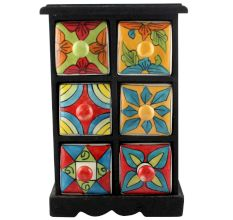 Spice Box-1167 Masala Rack Container Gift Items