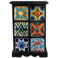 Spice Box-1168 Masala Rack Container Gift Items