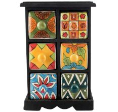 Spice Box-1169 Masala Rack Container Gift Items