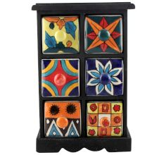 Spice Box-1170 Masala Rack Container Gift Items