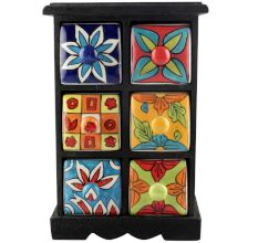 Spice Box-1172 Masala Rack Container Gift Items