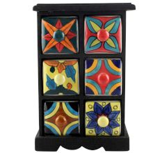 Spice Box-1173 Masala Rack Container Gift Items