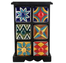 Spice Box-1175 Masala Rack Container Gift Items