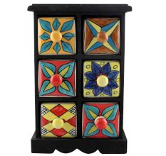 Spice Box-1176 Masala Rack Container Gift Items