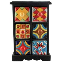 Spice Box-1177 Masala Rack Container Gift Items