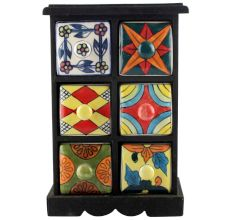 Spice Box-1185 Masala Rack Container Gift Items