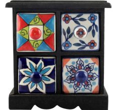 Spice Box-1201 Masala Rack Container Gift Items