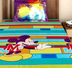 Bombay Dyeing Disney Kids Bedsheet : Mickey Mouse MM