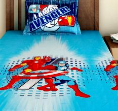 Bombay Dyeing Marval Kids Bedsheet : Avengers