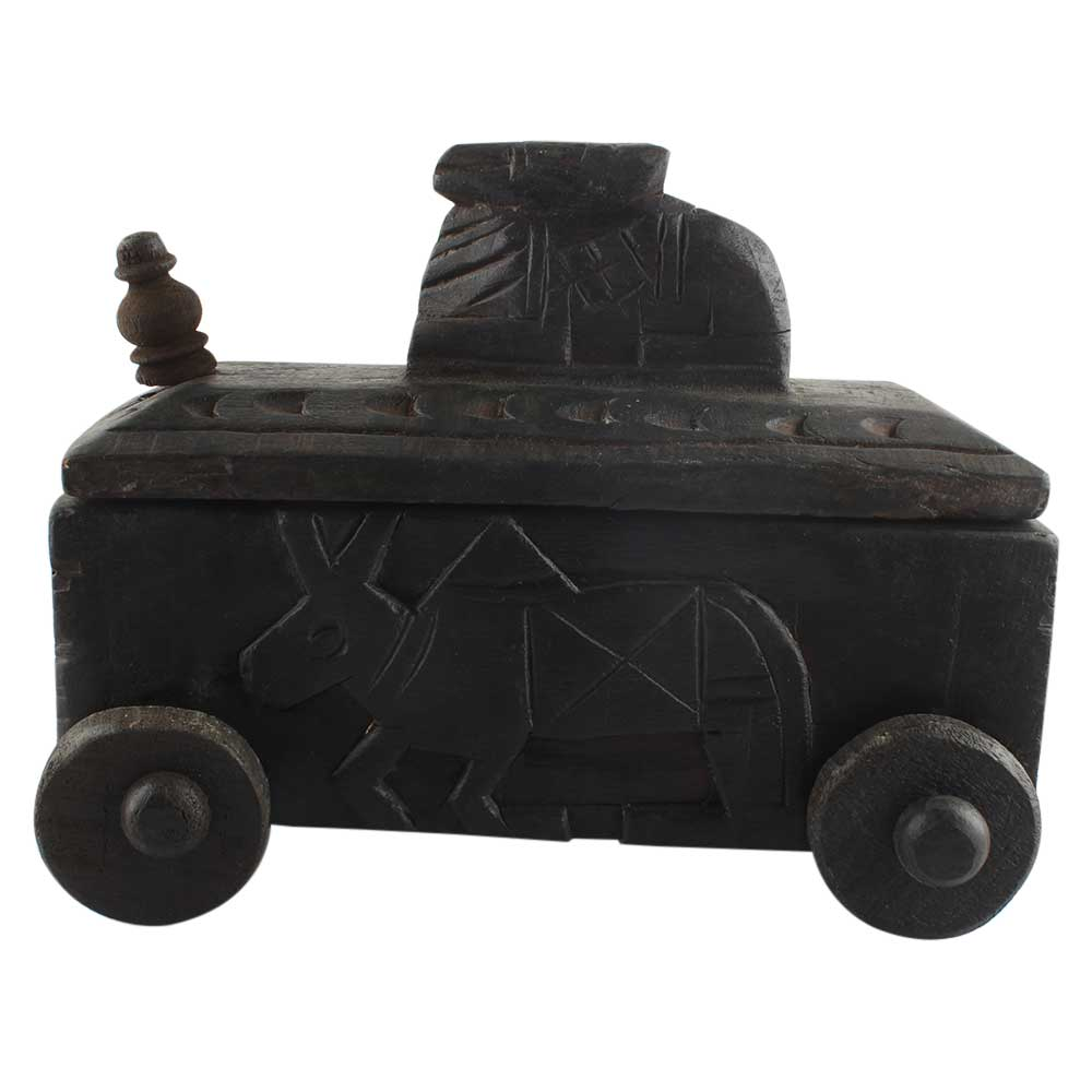 Nandi Wooden Box Handmade Kitchenware