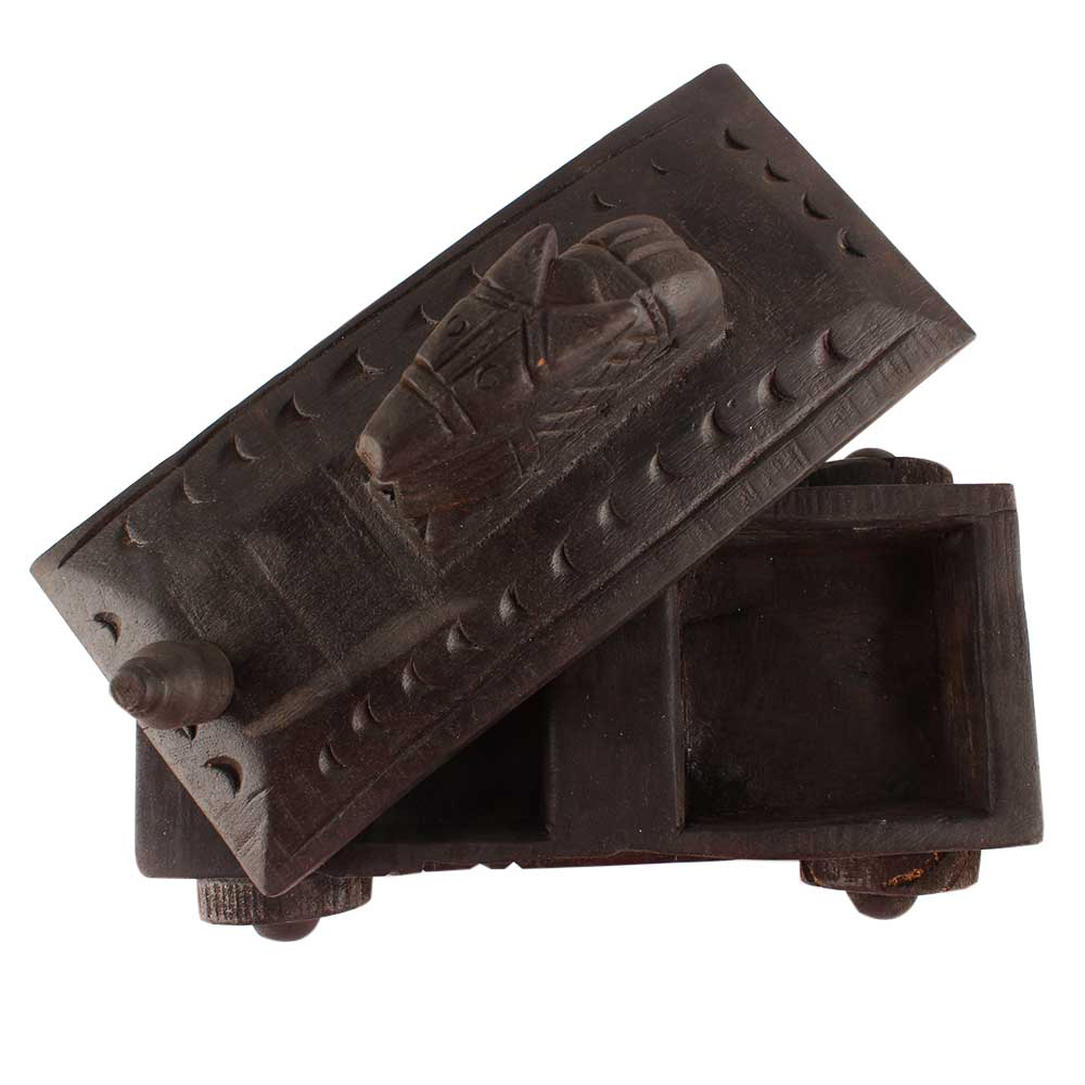 Nandi Wooden Spice Box Serve Ware Container