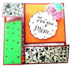 You mean the world to me / Handmade greeting for Mother/Love you beyond words