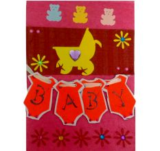 Baby is Gift Of God : Congratulations Card