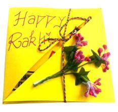 Rakhi Greeting with Rakhi