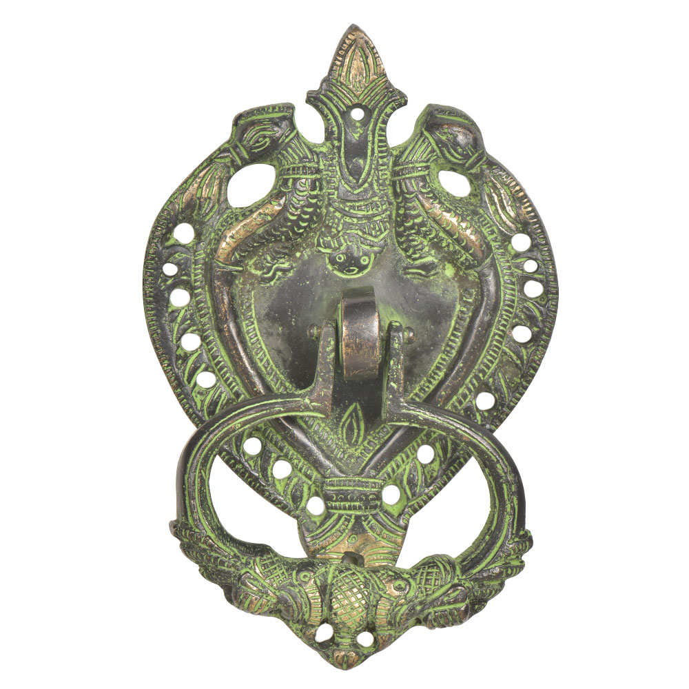 Handcrafted Ornate Brass Door Knocker