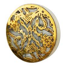 Golden Grate Knob