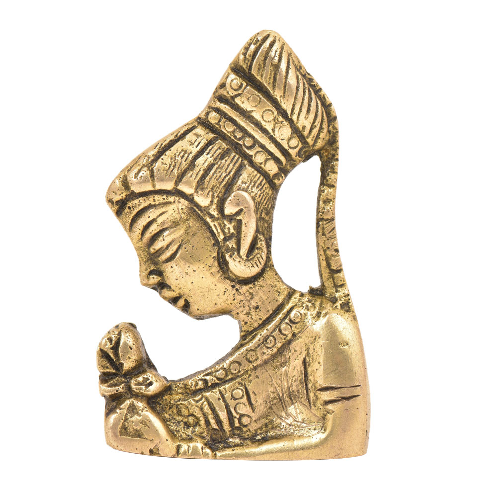 Traditional Indian Queen Drawer Pull Knob