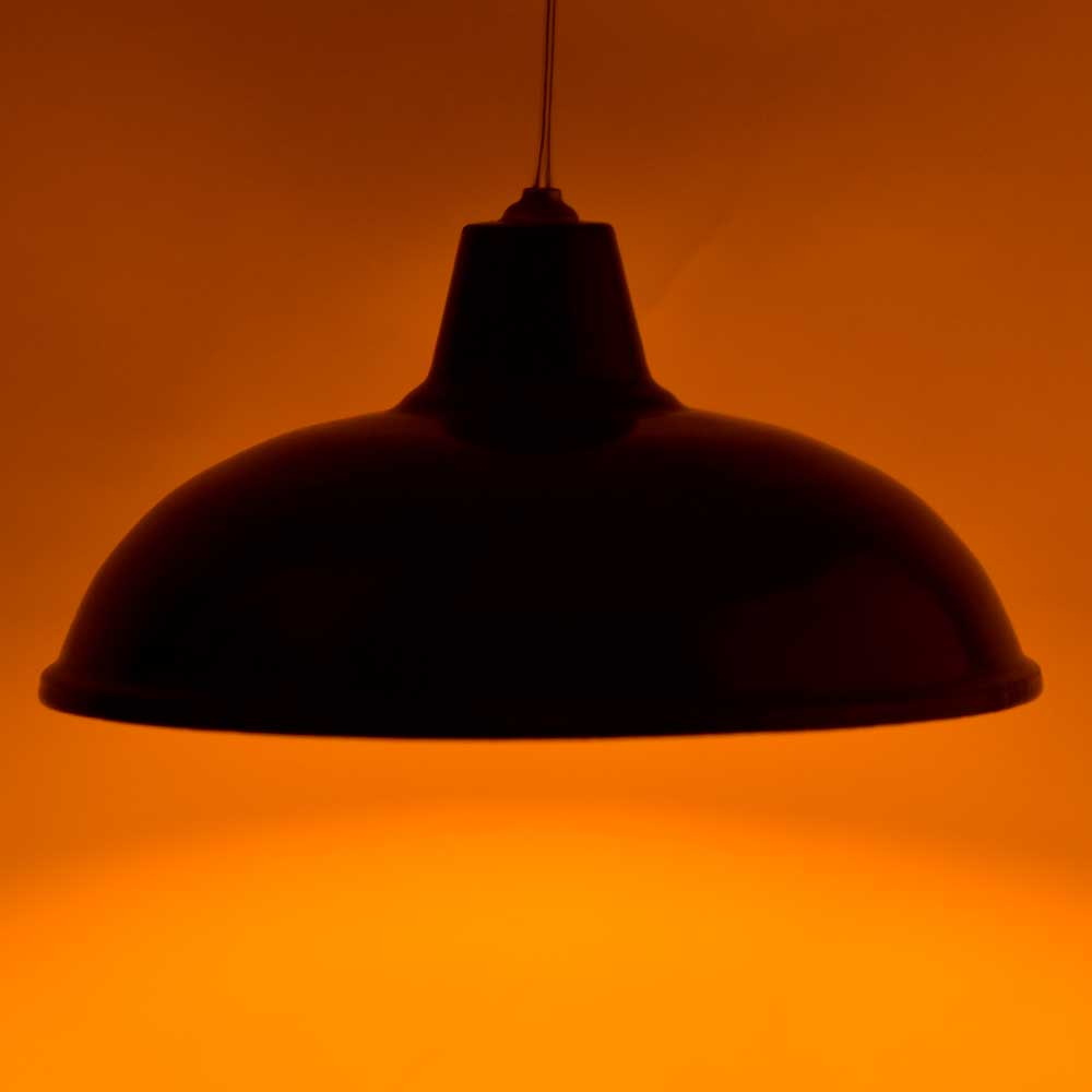 Retro Black Metal Lampshades Ceiling Pendant Light Shade