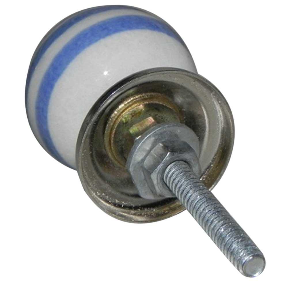 Blue Swirl Knob, Small