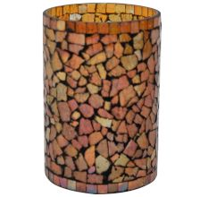 Glass Votive In Multicolour