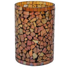 Glass Votive In Multicolour