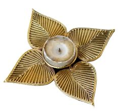 Dhokra Leafy Candle Stand