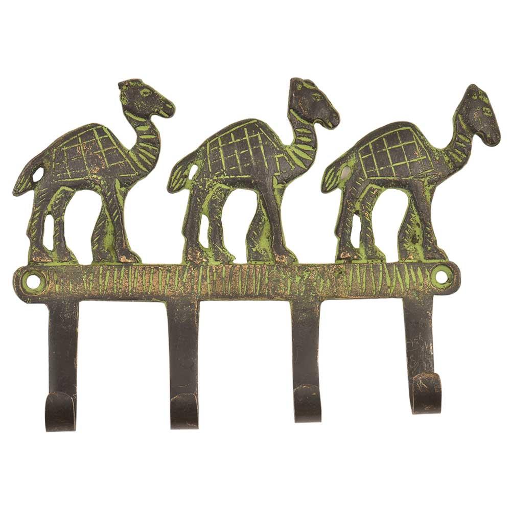 Vintage Retro Camel Solid Brass Animal Wall Hooks