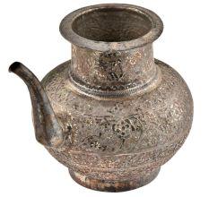 Copper Repousse Water Pot With A Spout