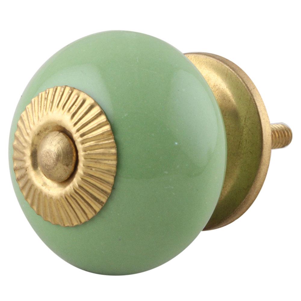 Pea Green Knob