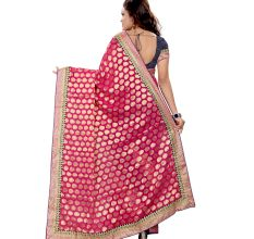 Navy Blue Pink Fashion Designer Fancy traditional Wear
