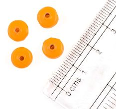 Marigold Loose Glass Seed Beads Used for Jewellery Making (Pack Of 12)