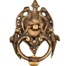 Traditional Heavy Brass Birds Door Knocker