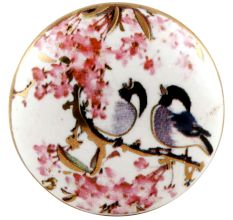 Birds Ceramic Door Cupboard Pull Knobs