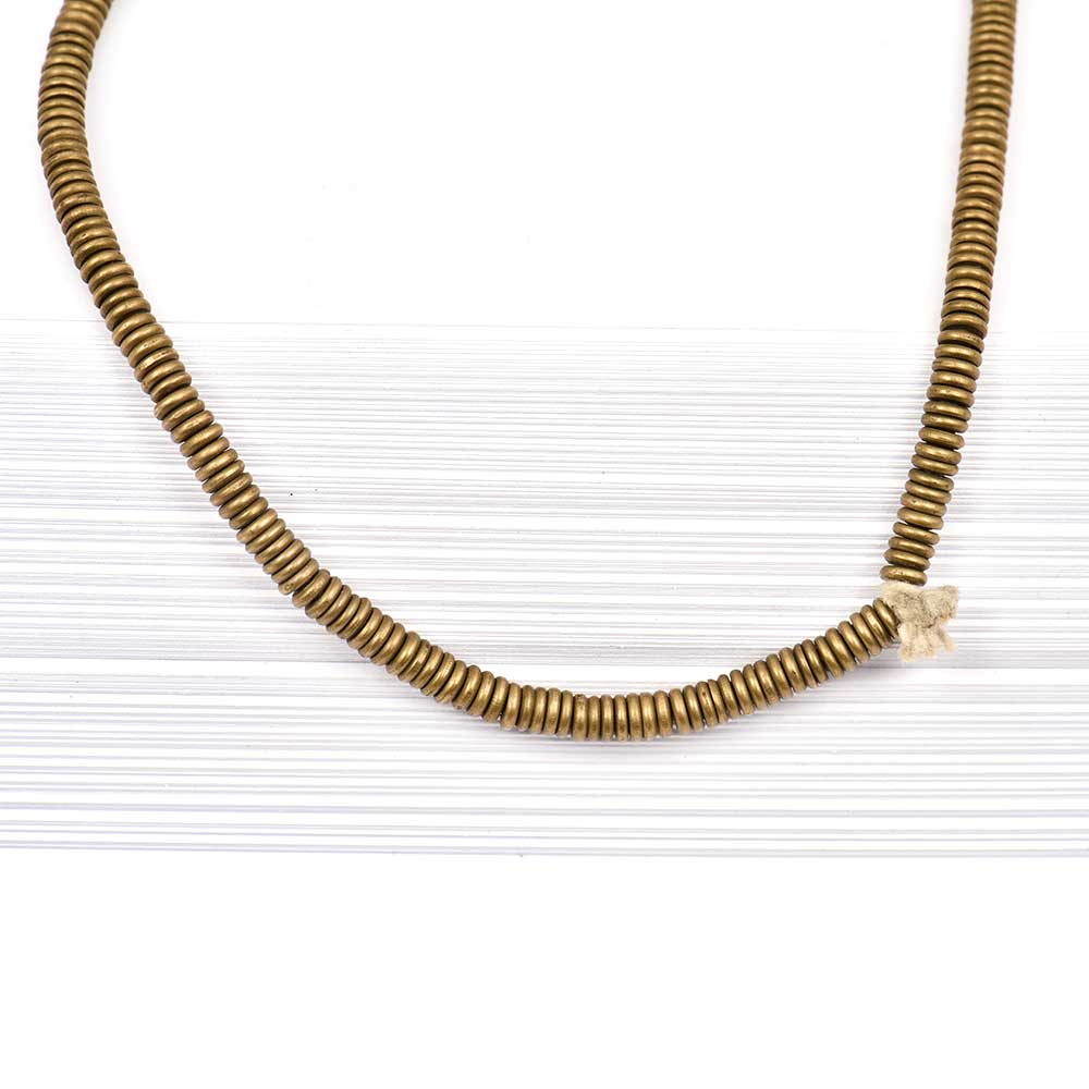 Fashion Jewelry Gold Plated Designer Mini Discs Brass Chain For Women And Girls (24 in Pack)