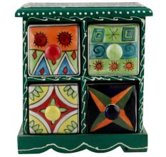 Spice Box-1248 Masala Rack Container Gift Item