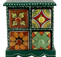 Spice Box-1254 Masala Rack Container Gift Item
