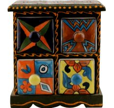 Spice Box-1256 Masala Rack Container Gift Item