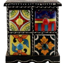 Spice Box-1258 Masala Rack Container Gift Item