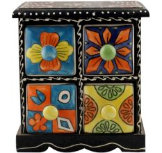 Spice Box-1264 Masala Rack Container Gift Item