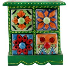 Spice Box-1265 Masala Rack Container Gift Item