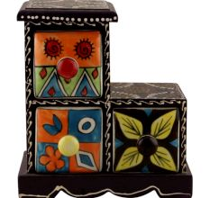 Spice Box-1289 Masala Rack Container Gift Item