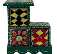 Spice Box-1291 Masala Rack Container Gift Item