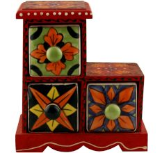 Spice Box-1301 Masala Rack Container Gift Item