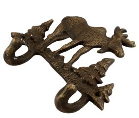 Christmas Reindeer Iron Hook