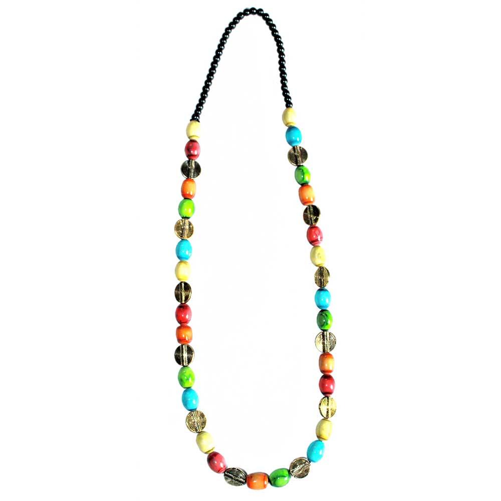 Handmade Multi-Color Glass Bead Jewellery Set