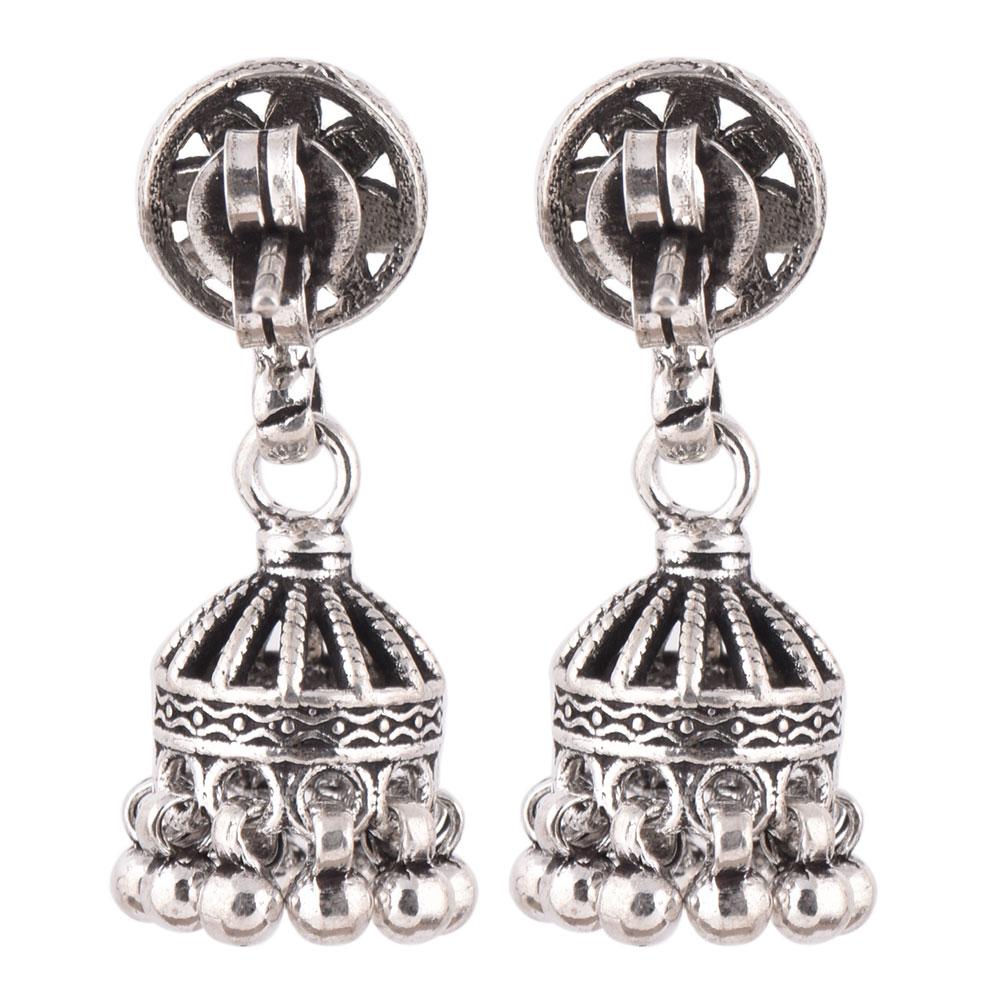 92.5 Sterling Silver Earrings Parasol Chandelier Earrings