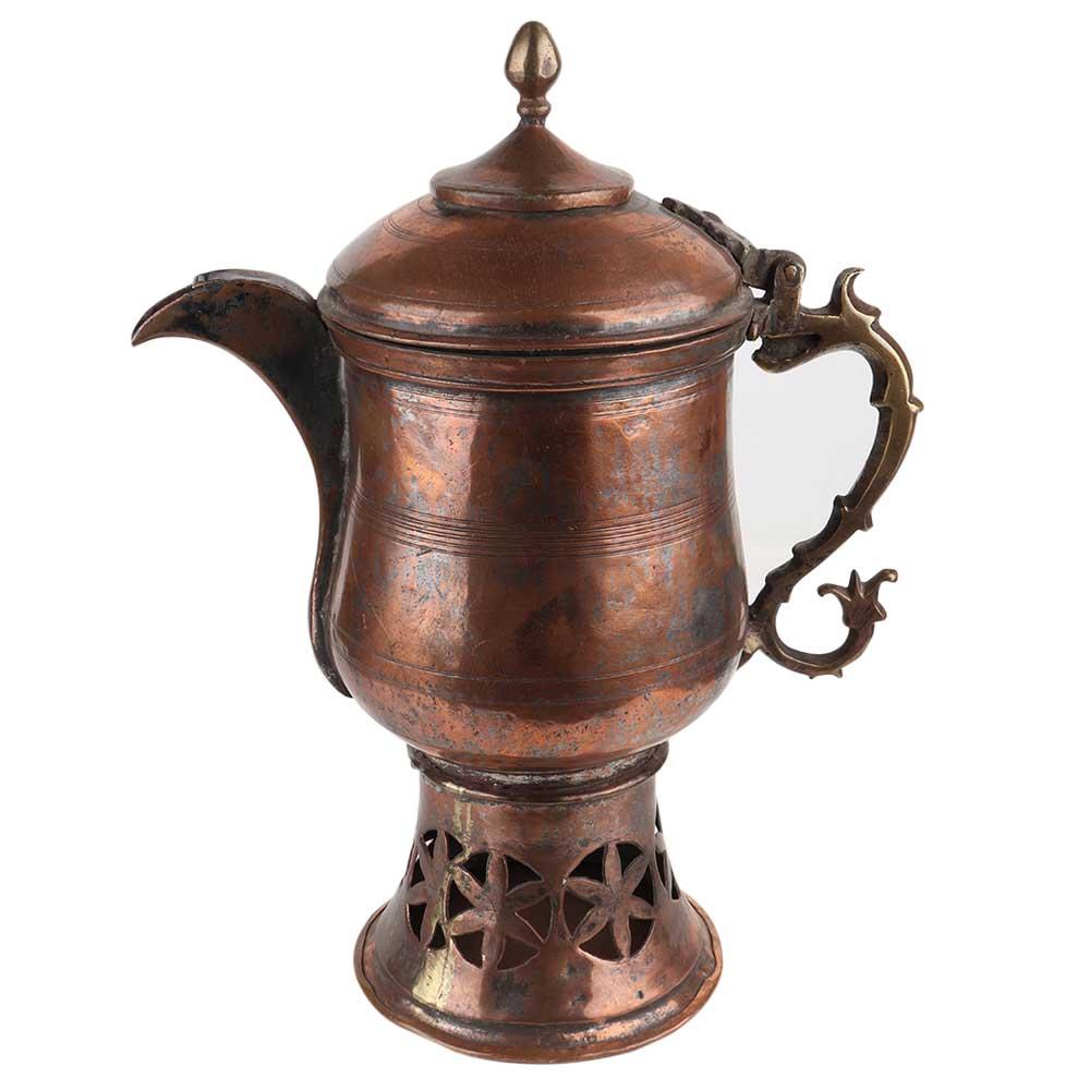 Traditional Copper Samovar Teapot