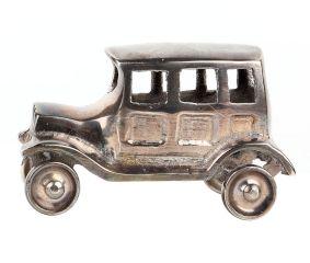 Brass Toy Car Decorative Showpiece